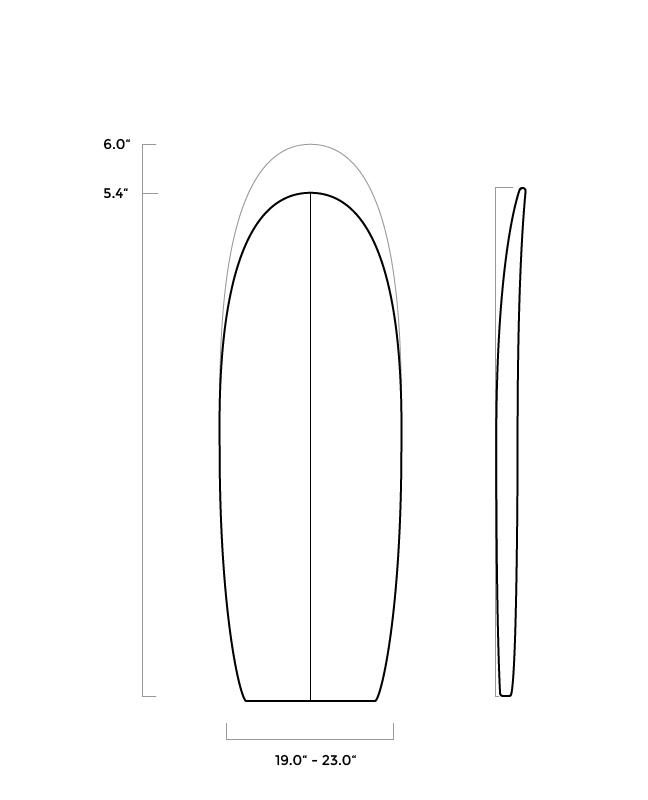 ferral_surfboards_shape_lucky strike