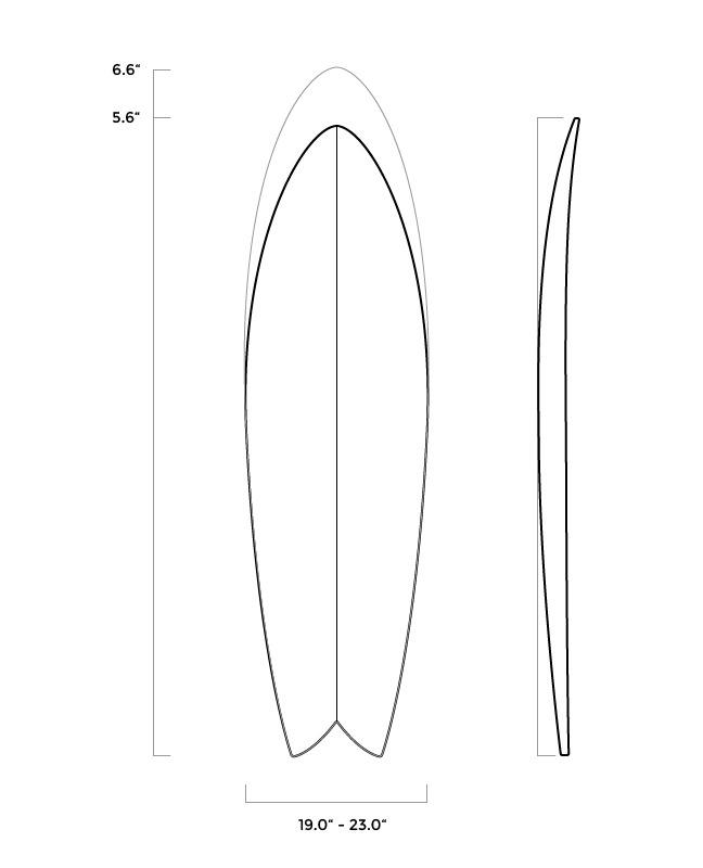 ferral surfboards shape pistol whip